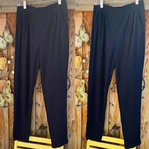 Navy & Black: lot of two Leith pants